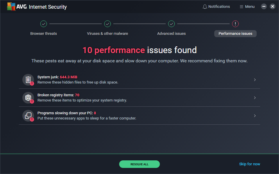 AVG Internet Security - 11
