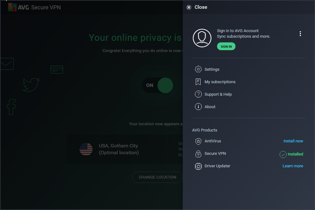 AVG Secure VPN - 3