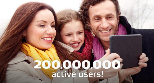 AVG Surpasses 200 Million Users Worldwide